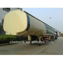50000litres fuel tansport tanque, 3 eje semirremolque cisterna de aceite