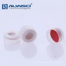 11mm Transparente Open Top Clear Snap Top Cap para frasco de 2ml
