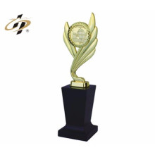 customize made metal funny design inflatable world cup soccer trophy