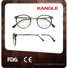 2017 unisex attraktiv und haltbar glänzende kombination brillen optische rahmen gläser rahmen
