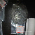8*8inch Kitchen cleaning stainless steel chainmail scrubber/ cast iron cleaner