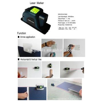 Marqueur de laser au laser