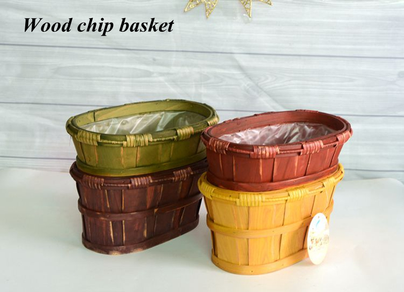 wood chip  basket