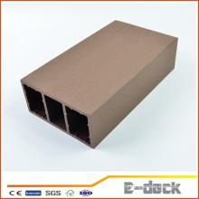 Imperméable à l'eau imperméable wpc decking board utilisation à l'extérieur