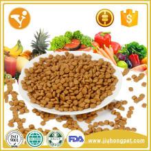 Aplicação de cães e tipo de alimento para animais de estimação em massa