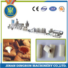 cream filling snacks food extruder