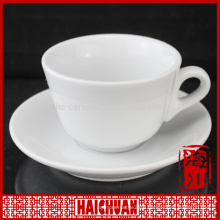 90cc coffee design porcelain espresso coffee cup and saucer with metal rack