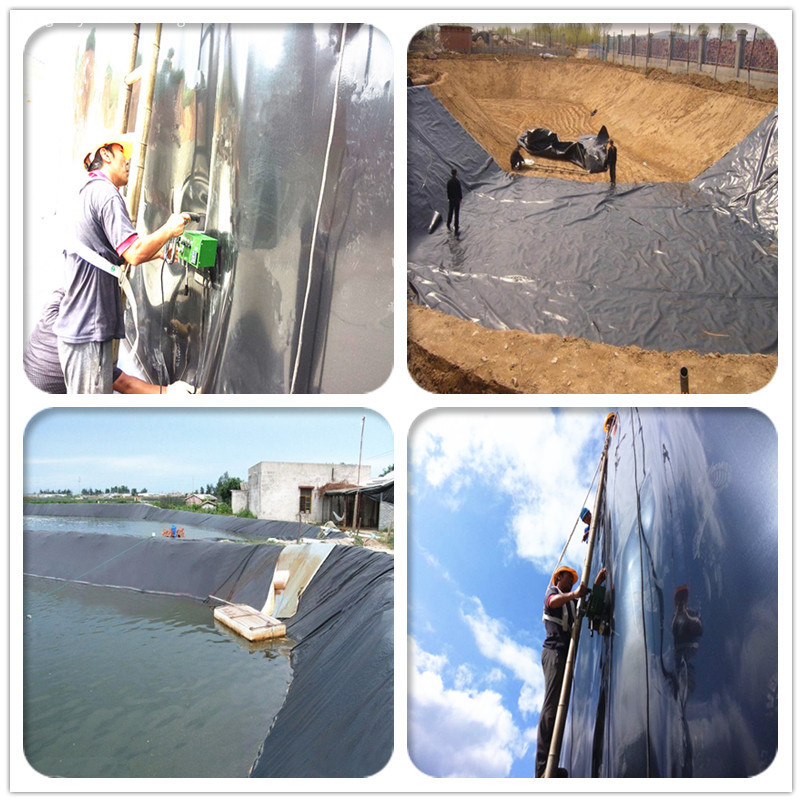 HDPE Geomembrane Used for Keeping Rainwater
