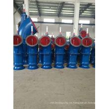 Bomba de agua de riego de alta eficiencia pesado flujo Vertical de flujo Axial