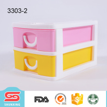 colorful tabletop supplies multifunctional makeup storage with high quality