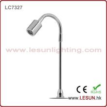 Luz de exposição de alta qualidade da jóia da tubulação 1W macia / luz LC7327 do armário