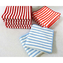 Microfiber Warp Stripe Cloths for Kitchen Cleaning