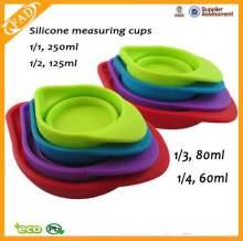 Perfect ontwerp voedsel rang siliconen cup meten