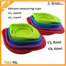 Perfect design food grade silicone measuring cup