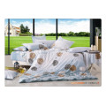 100 coton 40s 128 * 68 luxueux, doux, haute qualité, pigment, impression, literie, literie