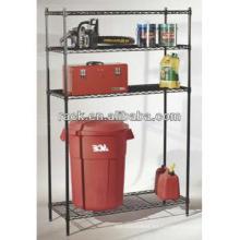DIY cromo estante de almacenamiento de alambre de almacenamiento de productos alimenticios (LD9045180A4E)