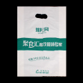 Patch Handle Custom Plastic Merchandise Retail Bag