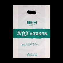 Patch Handle Custom Plastic Merchandise Retail Bag