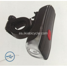 Luz de bicicleta LED recargable