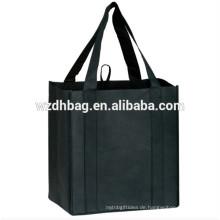 Umweltfreundliche Premium Qualität wiederverwendbare Non Woven GroceryTote Einkaufstasche
