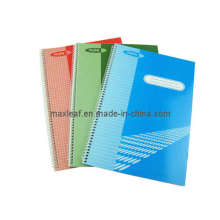 Office and School Supply of Hardcover Spiral Notebook for Promotional Gift