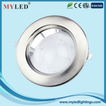 White/Stainless Steel Cover Optional 40w Recessed Ceiling Lighting LED Downlight