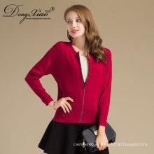 Fábrica Sales Office Lady Stly Slim Fit Cardigan suéter coreano de Interior Mogolia