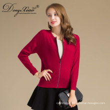 Factory Sales Office Lady Stly Slim Fit Cardigan Korean Sweater From Inner Mogolia