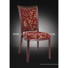 Cadeira moderna do restaurante da grão de madeira de alumínio para a sala de jantar (YC-E62)