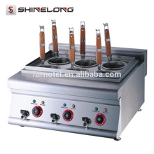Cocina eléctrica de la máquina de las pastas del contador del acero inoxidable K018