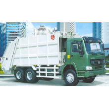 10m3 HOWO Rear-Loading Compressed Garbage Truck (QDZ5120ZYSZH)