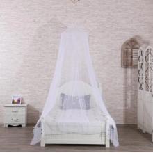 Colcha mosquitera blanca para techo suspendido