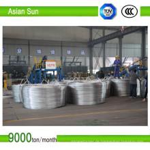 Aluminium Walzdraht 9,5 mm Anschluss