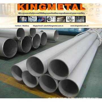 ASTM B167 Inconel 600 código de tubos de liga de aço.