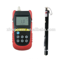 TLD6070 Fiber optic power meter with Visual Fault Locator VFL650-5,Optical laser source power meter for FTTH tester