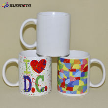 FREESUB 11oz Customized Ceramic White Mug Heat Press