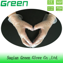 Одноразовые перчатки из ПВХ с медицинским осмотром