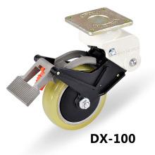 carrymaster atau footmester tugas berat rendah ketinggian meratakan caster nylone roda