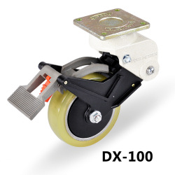 carrymaster or footmester heavy duty low height leveling caster nylone wheels