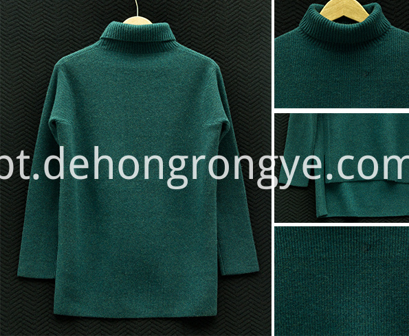 High Necked Cashmere Women S Sweater