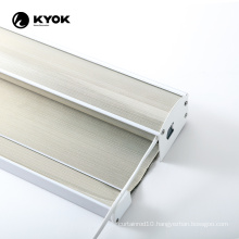 KYOK how to install smart life seven pleat zebra blinds