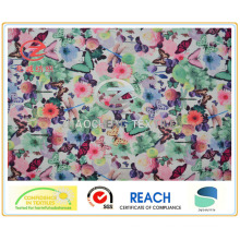 Twill Micro Fiber Butterfly Style Printing (ZCGP067)