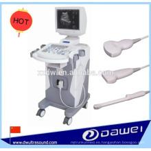 escáner ultrasónico médico y máquina de ultrasonido del modo B de la carretilla