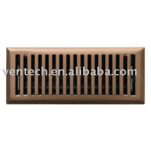 Registre d'air, air diffuseur, grilles, ventilation, HVAC