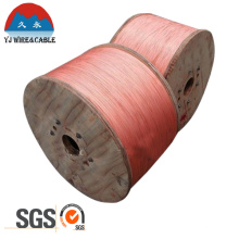 SGS Approval Copper Clad Steel Wire CCS Wire 0.4mm 0.45mm 0.51mm