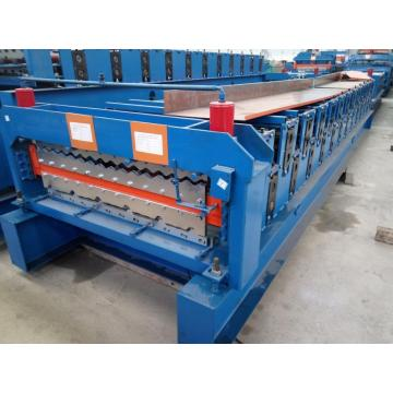 Bahan Roofing Steel Tile Sheet Rolling Machine