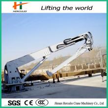 Mini pliage grue hydraulique grue Marine 15 tonnes