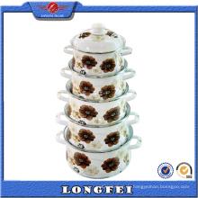 6PCS China Großhandel Casserole Hot Pot