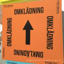 Panneau publicitaire de KT imprimant pour l'image collant