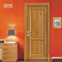 Utilisation de porte intérieure en bois de haute qualité en MDF revêtu de PVC pour hôtel